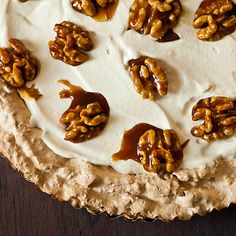 Maple Walnut Cream Tart