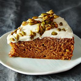 Pumpkin Cake -- and Proud of It