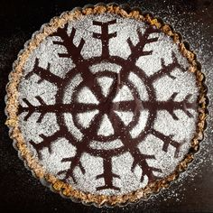 Peanut Butter-Chocolate Ganache Tart (aka Puppy Chow Pie)