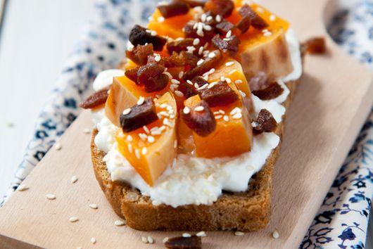 Squash breakfast toast recipe