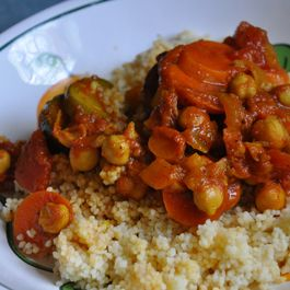 Moroccan Vegetable Couscous