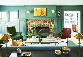 14 Green Paints That Won't Make Your House Feel like St. Paddy's