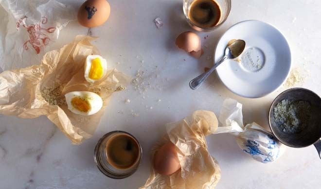hard-boiled eggs on Food52