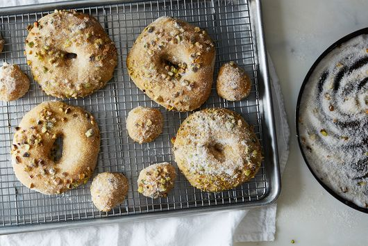 Cardamom Doughnuts