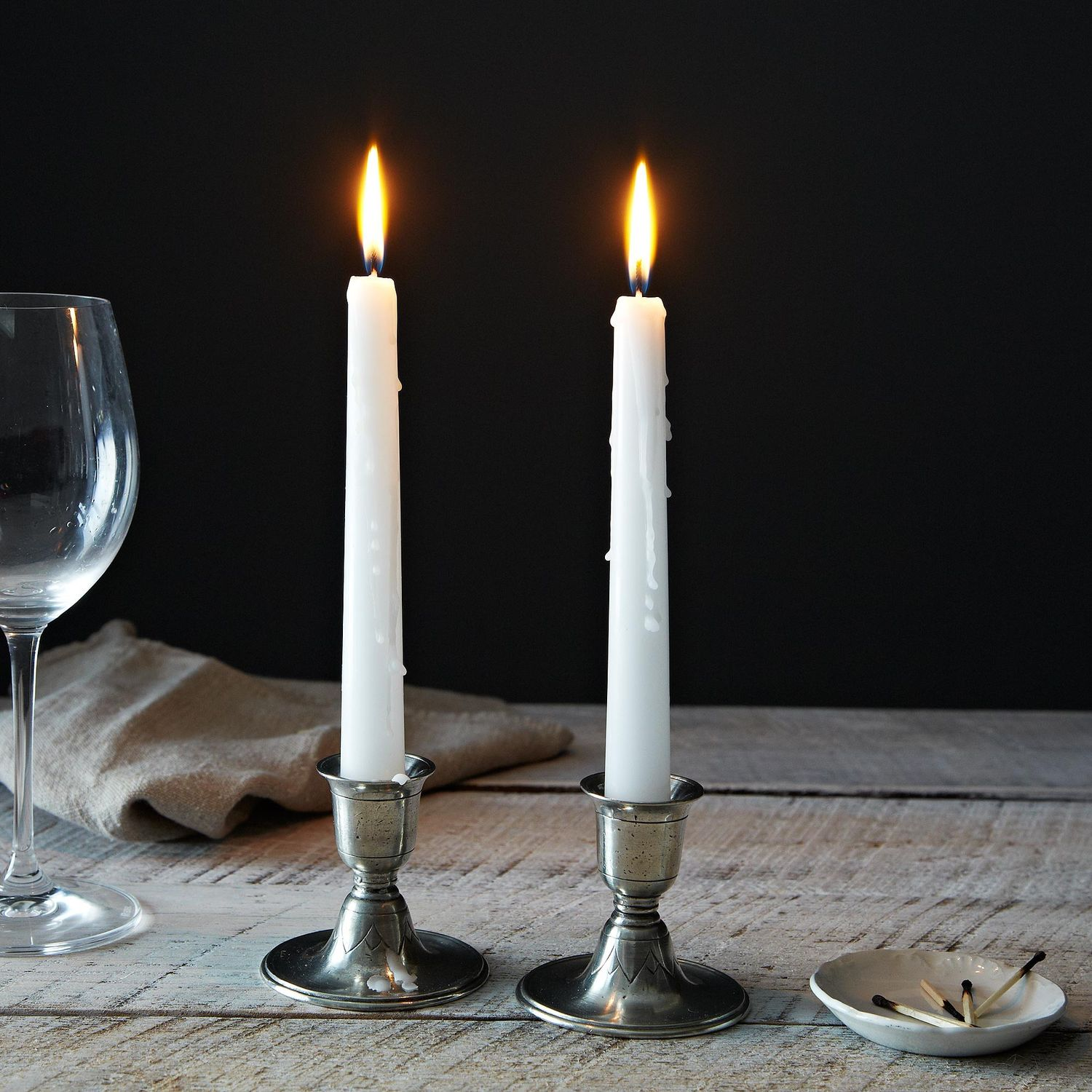 Short Pewter Candlestick Pair On Food52