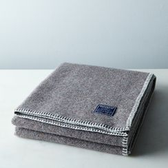 Eco-Woven Wool Throw