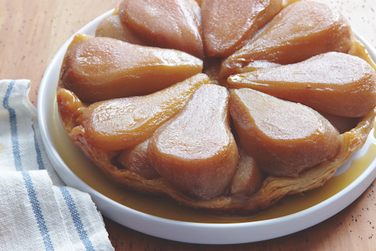 Pear-Maple Tarte Tatin