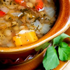 Hearty Vegetable Lentil Soup