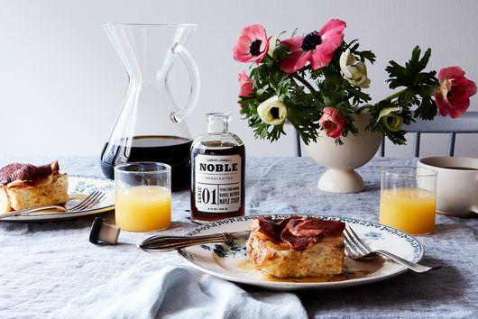 Overnight Apple-Cinnamon French Toast