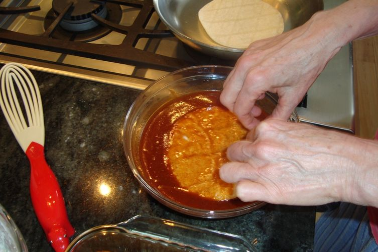 Frank Dorn's Enchiladas with Chicken