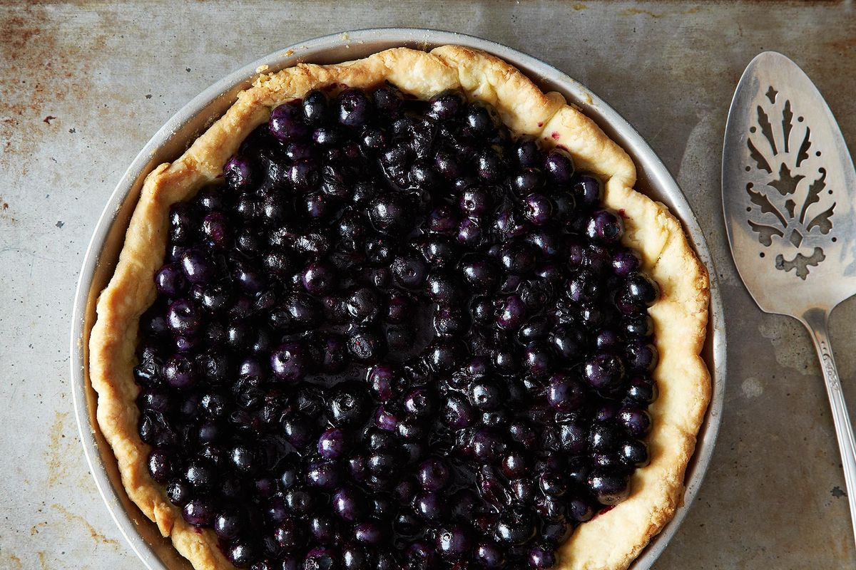 The Simple, Perfect Blueberry Pie That Traveled 3 Generations