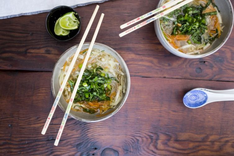 DIY instant noodles {GF, vegan}