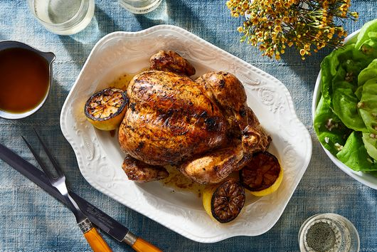 Lemoniest Roast Chicken