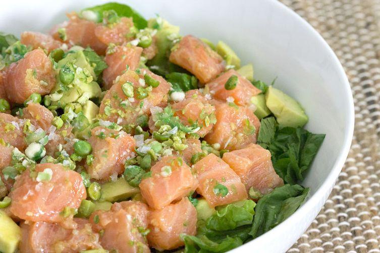 Raw Salmon Bowl
