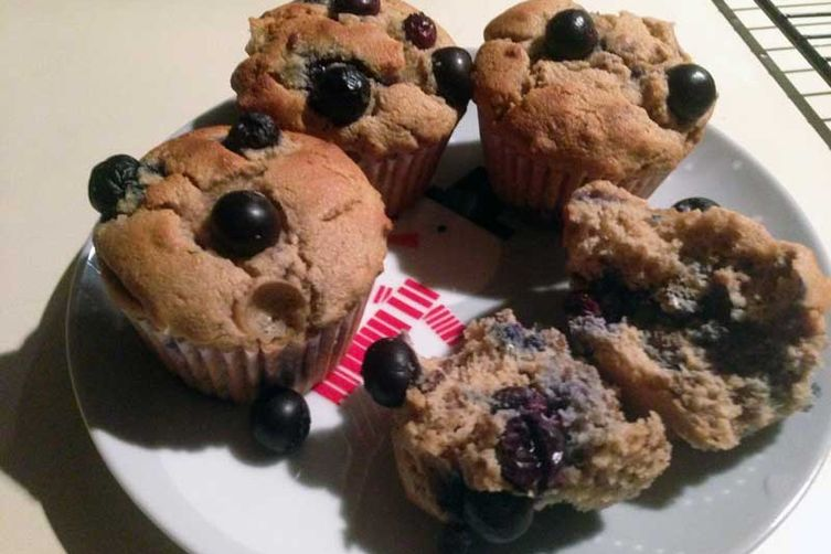 Blueberry/Cranberry Muffins