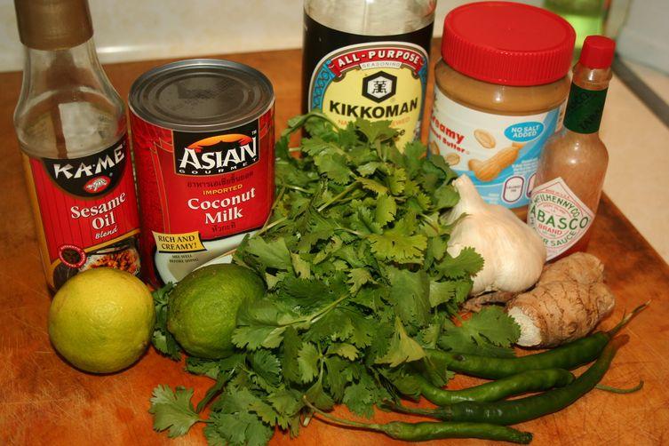 Thai Peanut Sauce Fondue