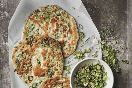 Kulcha with Celtuce