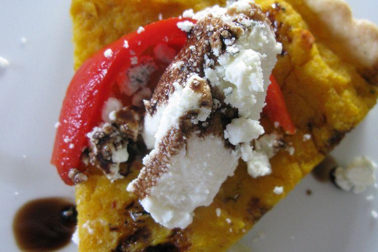 Butternut Squash and Gorgonzola Tart