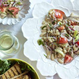 Quick White Bean Salad With Tuna (insalata di fagioli e tonne veloce)