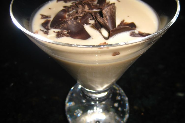 White Chocolate Pudding Cocktail