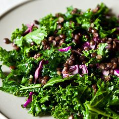 Dinner Tonight: Kale Salad + Sweet Potato Soup
