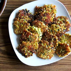 Summer Corn Fritters to Make in Spare Kitchen or a Stocked One