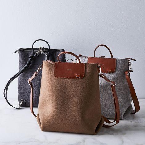 Bedford Felt & Leather Backpack
