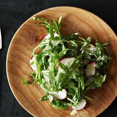 Radish and Arugula Salad with Pecorino and Lemon