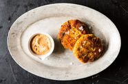 Sweet Potato Salmon Cakes with Chipotle Mayo