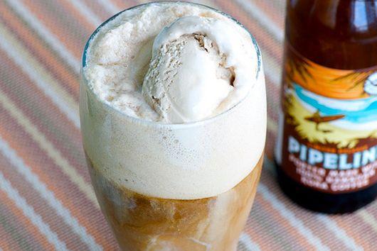 Beer Ice Cream Float