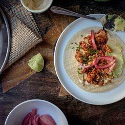 Slow Roasted Cauliflower Tacos