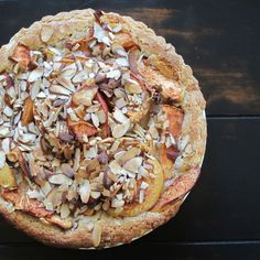 Apple Tart with Almond Paste