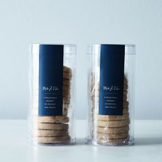 Vanilla Bean and Butter Pecan Shortbread Duo