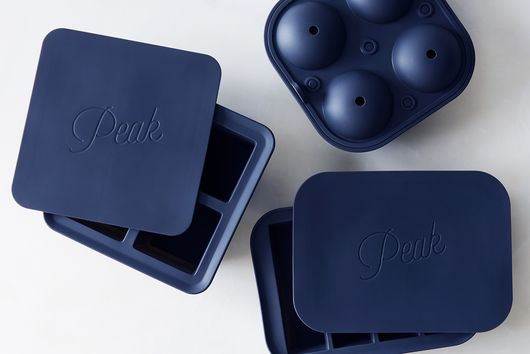 Cocktail Ice Cube Trays with Lid (Set of 3)