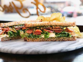 A Perfect Vegetarian Sandwich Grows in Brooklyn