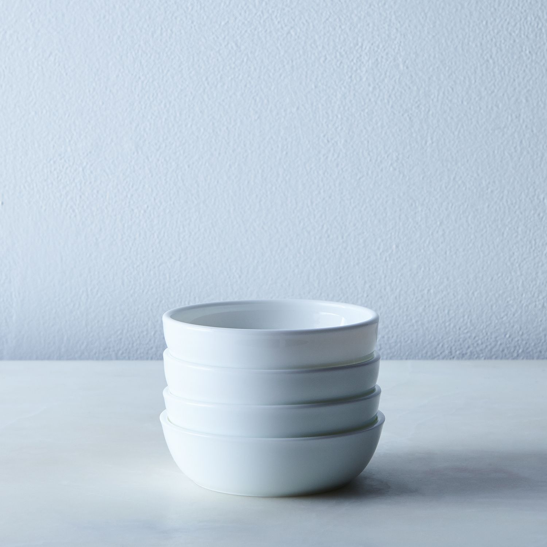 Milk Glass Shallow Bowls Set Of 4 On Food52