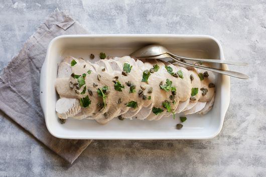Tacchino Tonnato (Turkey with Tuna Sauce)