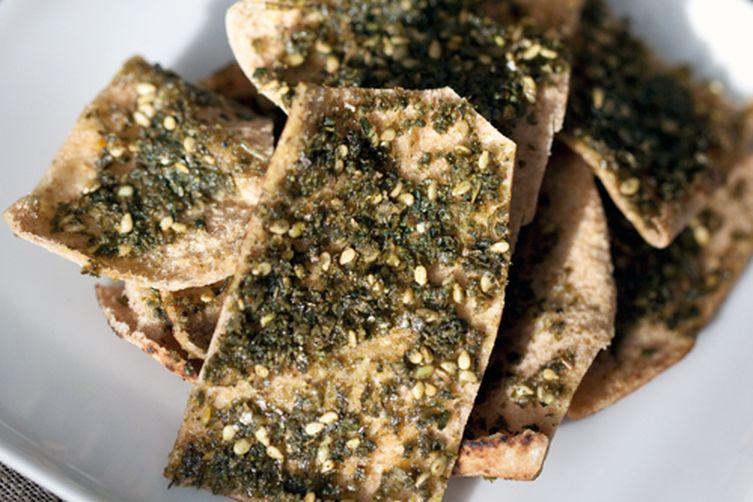 Baked Za'atar Chips
