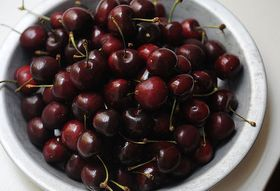 Food Poem Fridays: To a Few Cherries