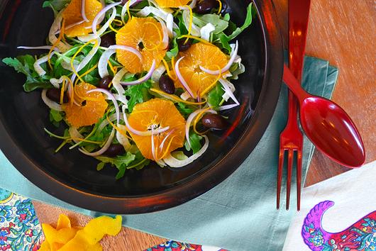 Fennel, Orange & Kalamata Olive Salad