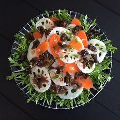 Lotus & Ginger Salad (Halloween Special)