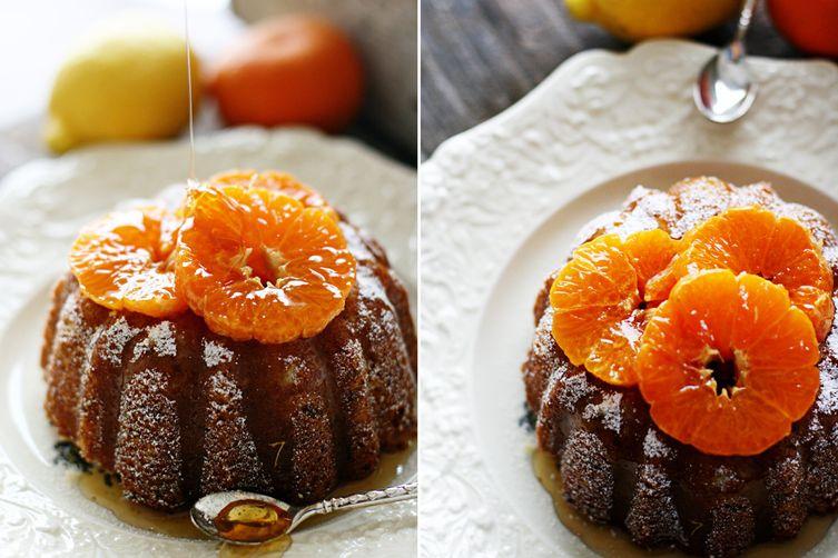 Apricot Citrus Tea Cake