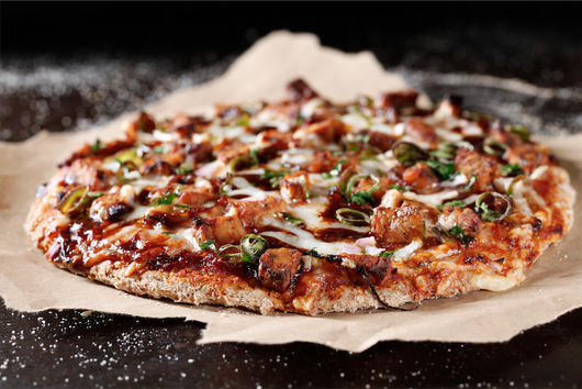 BBQ Tempeh Pizza
