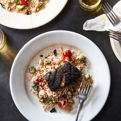 This Smoky, Citrusy Grilled Bass Is an Homage to My Great-Aunt's Jerk Seasoning