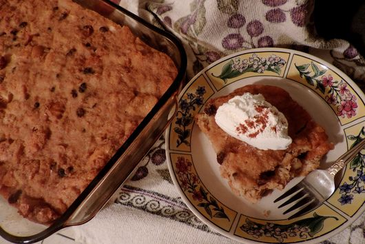Buttermilk & Brown Sugar Apple Pudding