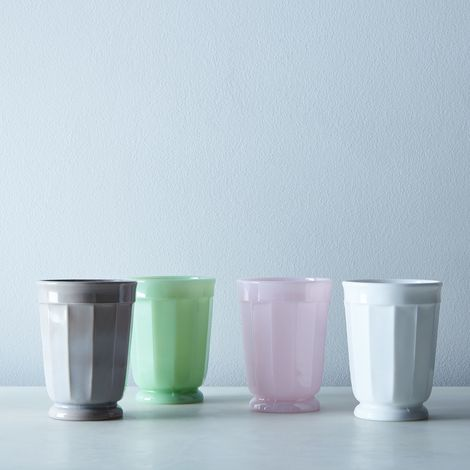 Faceted Glass Tumblers (Set of 4)