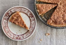 A Simple Almond Tart That Doesn't Need Anything But Itself