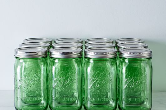 Green Ball American Heritage Collection Quart Mason Jars (Set of 12)