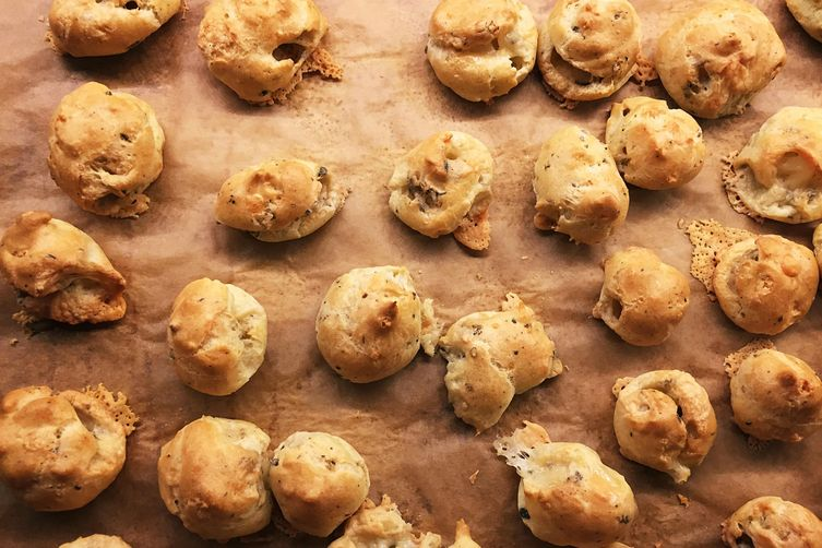 Remnant Cheese Gougeres