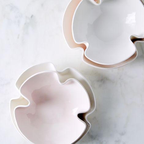 Handmade Curvy Serving Bowls